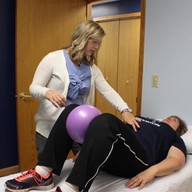 pelvic floor physical therapy exercise