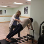 pilates reformer exercise
